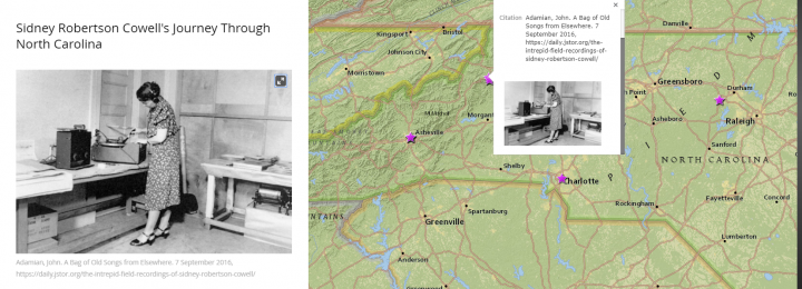 """Undergraduate Research: """"Geographies of the New Deal in North Carolina"""""""